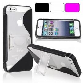 Funda Iphone 5 Soporte EsyX + Protector de pantalla