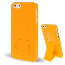 Carcasa Iphone 5 Con soporte Naranja