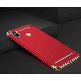 Funda Xiaomi MI 8 SE Cromada Roja