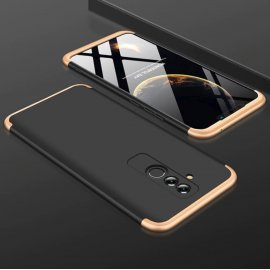 Funda 360 Huawei Mate 20 Lite Negra y Dorada