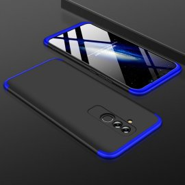 Funda 360 Huawei Mate 20 Lite Negra y Azul