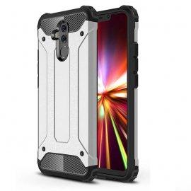 Funda Huawei Mate 20 Lite Shock Resistante Gris Plata