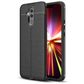 Funda Huawei Mate 20 Lite Tpu Cuero 3D Negra