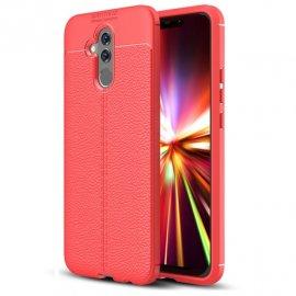 Funda Huawei Mate 20 Lite Tpu Cuero 3D Roja
