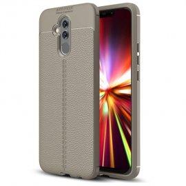 Funda Huawei Mate 20 Lite Tpu Cuero 3D Gris
