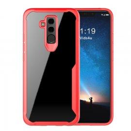 Funda Flexible Huawei Mate 20 Lite Gel Dual Kawax Roja