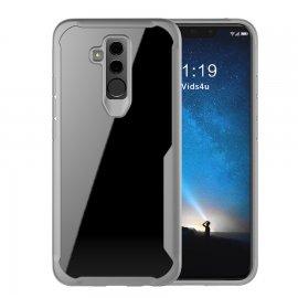 Funda Flexible Huawei Mate 20 Lite Gel Dual Kawax Gris