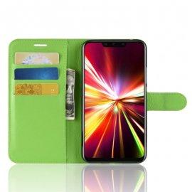 Funda cuero Flip Huawei Mate 20 Lite Verde