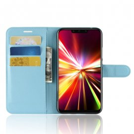 Funda cuero Flip Huawei Mate 20 Lite Azul