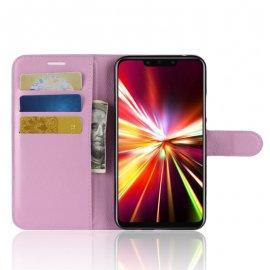 Funda cuero Flip Huawei Mate 20 Lite Rosa