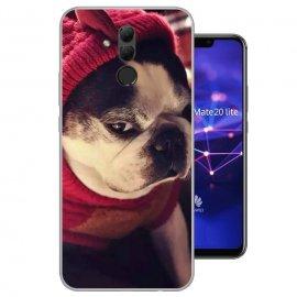Funda Huawei Mate 20 Lite Gel Dibujo Doggy
