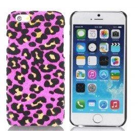 Carcasa Iphone 6 Leopardo Rosa