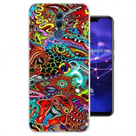 Funda Huawei Mate 20 Lite Gel Dibujo Acido