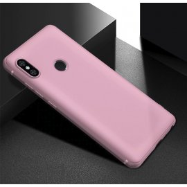 Funda Gel Xiaomi Note 6 Flexible y lavable Mate Rosa