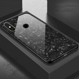 Funda Xiaomi Redmi Note 6 Tpu Negra Trasera Cristal
