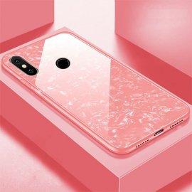 Funda Xiaomi Redmi Note 6 Tpu Rosa Trasera Cristal
