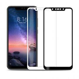 Protector Pantalla Cristal Negro o Blanco Templado Xiaomi Redmi Note 6