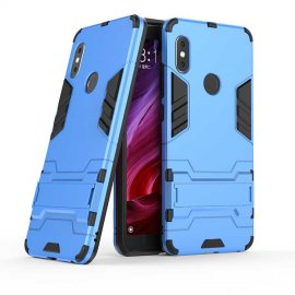 Funda Xiaomi Redmi Note 6 Shock TREX Resistante Azul