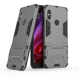 Funda Xiaomi Redmi Note 6 Shock TREX Resistante Gris