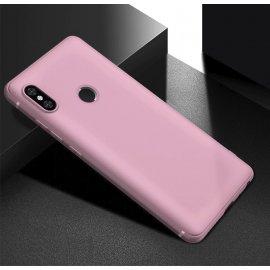 Funda Gel Xiaomi Note 6 Pro Flexible y lavable Mate Rosa