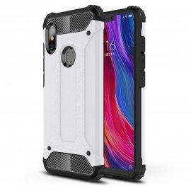 Funda Xiaomi Redmi Note 6 Pro Shock Resistante Blanca