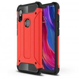 Funda Xiaomi Redmi Note 6 Pro Shock Resistante Roja
