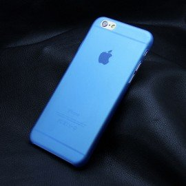 Funda IPhone 6S Gel Mas Fina del Mundo 0.22mm Azul