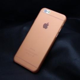 Funda IPhone 6S Gel Mas Fina del Mundo 0.22mm Naranja