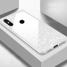 Funda Xiaomi Redmi Note 6 Pro Tpu Blanca Trasera Cristal