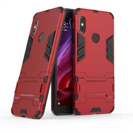 Funda Xiaomi Redmi Note 6 Pro Shock TREX Resistante Roja