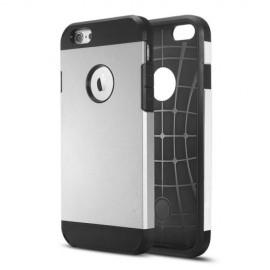 Funda Iphone 7 Shock Resistante Plateado