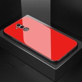 Funda Huawei Mate 20 Lite Silicone con trasera Cristal Templado Roja