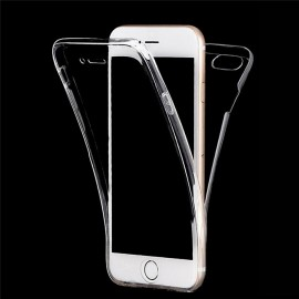 Funda iphone 7 Plus Doble Cara Full Transparente