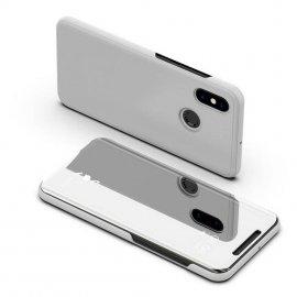 Funda Libro Smart Translucida Xiaomi Redmi Note 6 Pro Gris