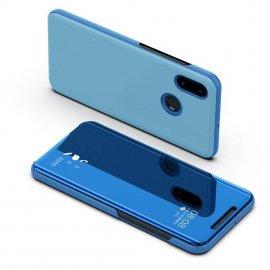 Funda Libro Smart Translucida Xiaomi Redmi Note 6 Pro Azul