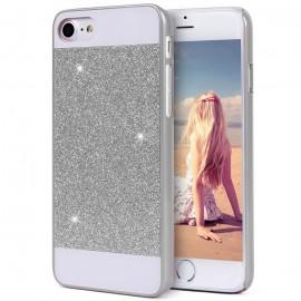 Carcasa Iphone 7 Luxe Plateada