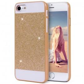 Carcasa iPhone 6S Diamante Bling Dorada