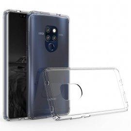 Funda Huawei Mate 20 Hybrid Transparente con bordes Transparente