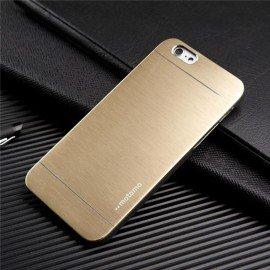 Funda Iphone 6S Aluminio Dorada