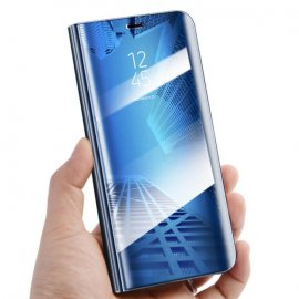 Funda Libro Smart Translucida Huawei Mate 20 Azul