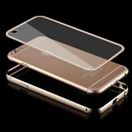 Bumper Iphone 7 Glass Dorado