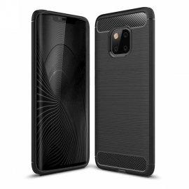 Funda Huawei Mate 20 Pro Gel Hybrida Cepillada Negra