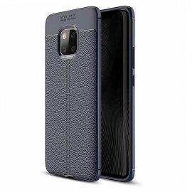 Funda Huawei Mate 20 Pro Tpu Cuero 3D Azul