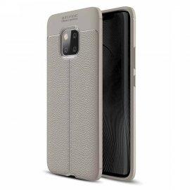Funda Huawei Mate 20 Pro Tpu Cuero 3D Gris