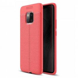 Funda Huawei Mate 20 Pro Tpu Cuero 3D Roja