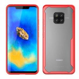 Funda Flexible Huawei Mate 20 Pro Gel Dual Kawax Roja