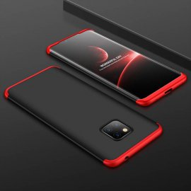 Funda 360 Huawei Mate 20 Pro Negra y Rojo