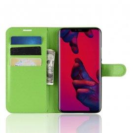 Funda cuero Flip Huawei Mate 20 Pro Verde