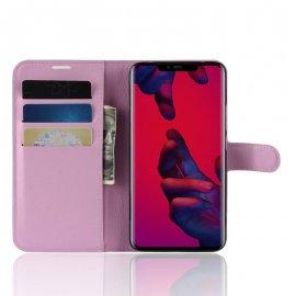Funda cuero Flip Huawei Mate 20 Pro Rosa