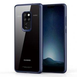 Funda Flexible Huawei Mate 20 Gel Dual Kawax Azul